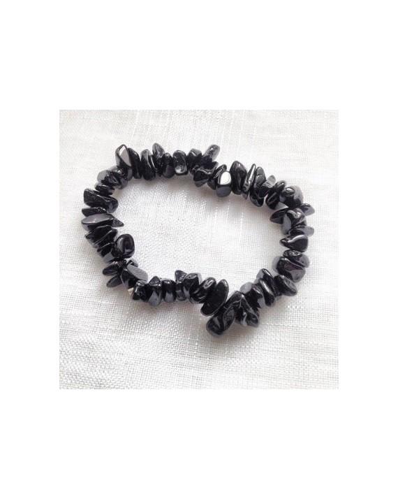 Tourmaline noire - Bracelet baroque