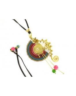 Collier - Ethnique - Fleur