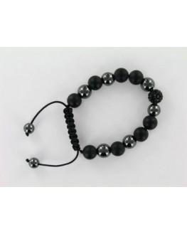 Bracelet - Hématite oxydes - Shamballa