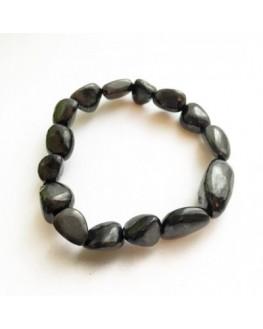 Bracelet shungite pierres roulées