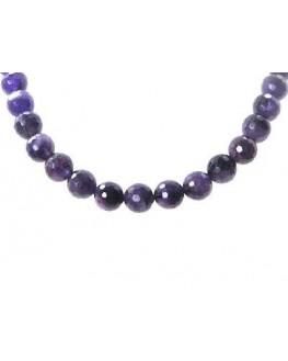 Collier - Améthyste - Perles facettées
