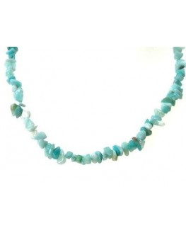 collier baroque en amazonite