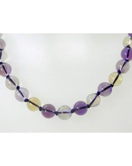 Collier - Ametrine - Perles