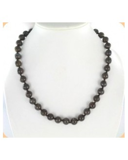Collier - Bronzite - Perles