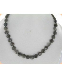 Collier - Labradorite - Perles facettées
