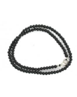 Collier - Tourmaline noire - Perles