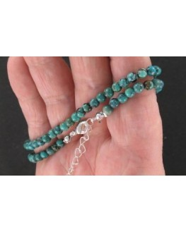 Collier - Turquoise - Perles