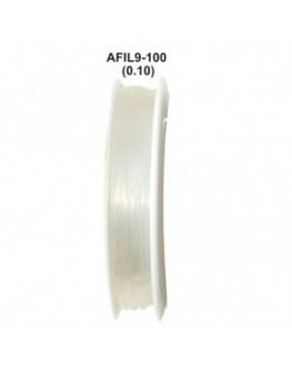 Élastique blanc pour fabriquer vos bracelets 1mètre