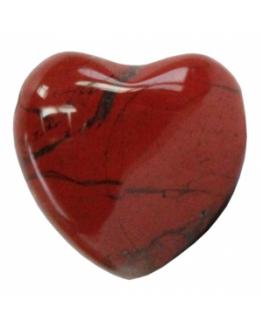 Pendentif - Jaspe rouge - Coeur