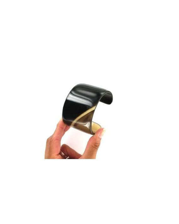Bracelet - Corne - Marron - Ovale
