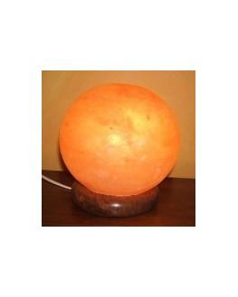 Lampe en cristal de sel - Ronde