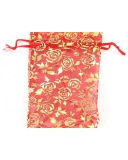 Pochette rouge 17cm sur 13cm