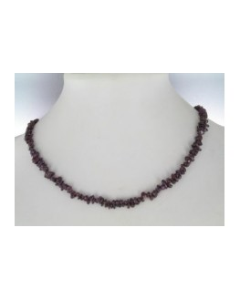 Collier - Grenat - Baroque