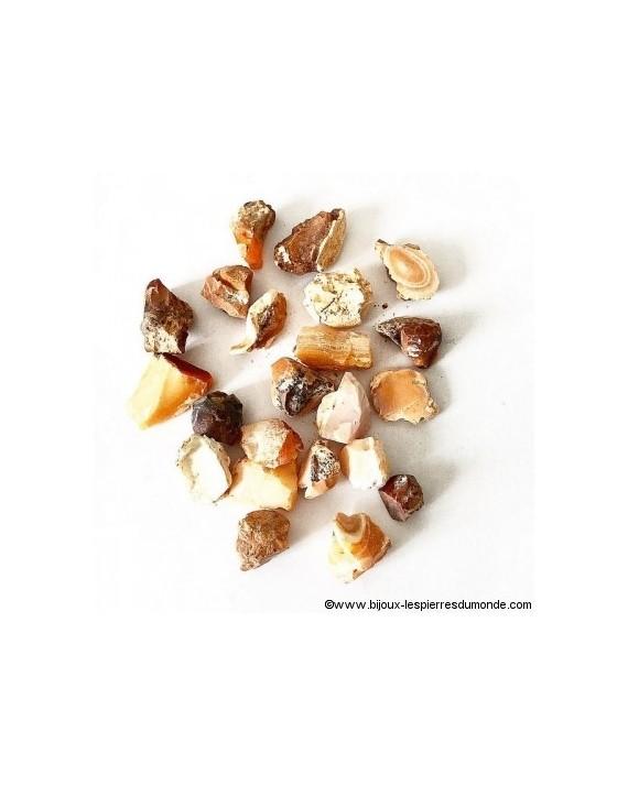 Opale de feu - Pierre brute