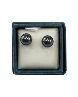 Boucles d'oreille - Puces d'oreilles - Hématite