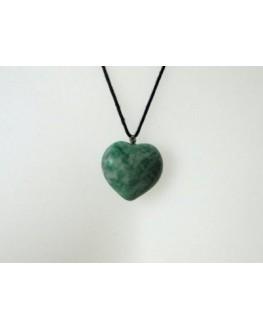 Pendentif - Amazonite - Coeur