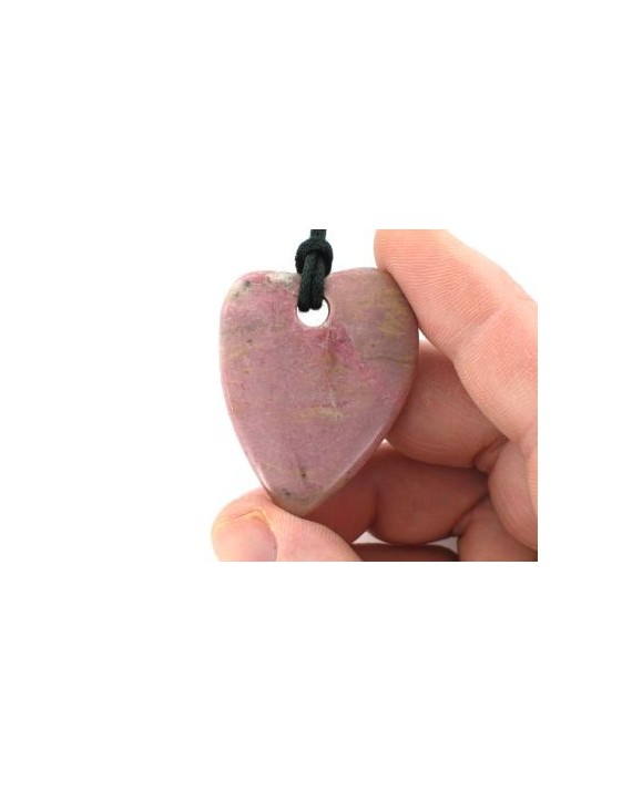 Pendentif - Rhodonite - Coeur
