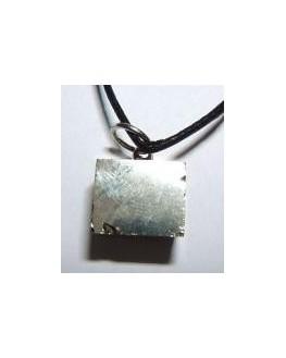 Pendentif Pyrite Pierre brute Cube