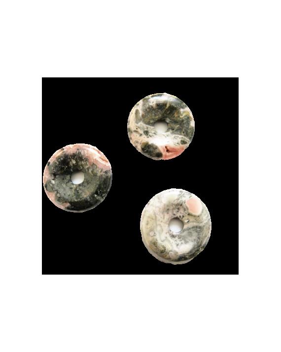 Pendentif - Rhodochrosite - Donut