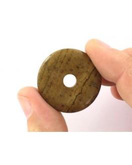 Pendentif - Jaspe Mariane - Donut