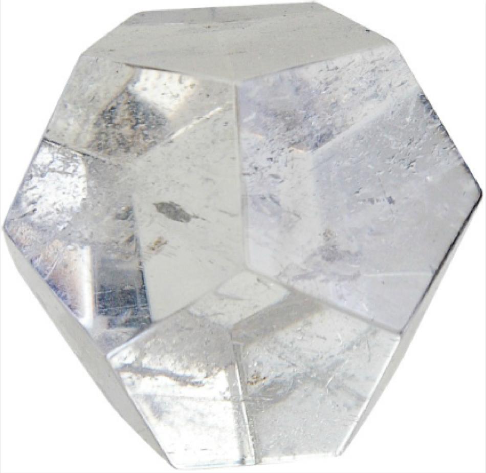 dodécaèdre cristal
