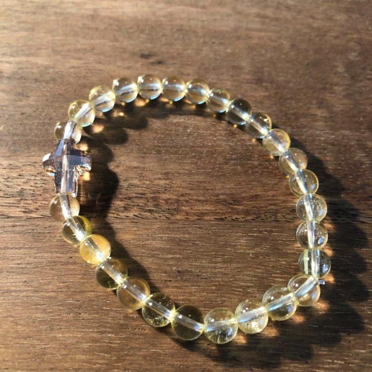 bracelet-citrine